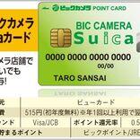 ビックカメラSuicaカードよりお得なカードとは