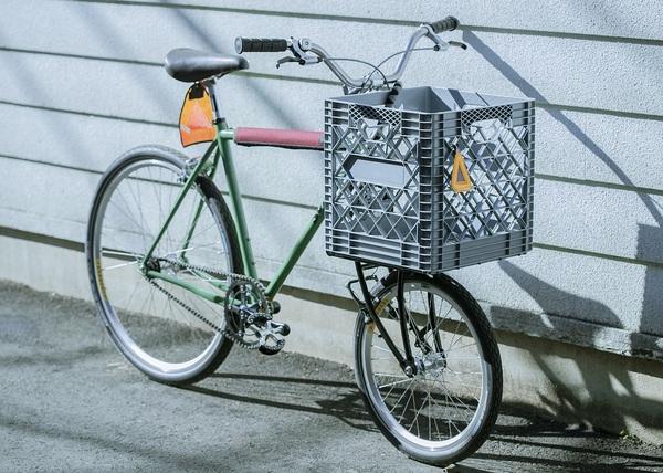 藤本さんの自転車 全体