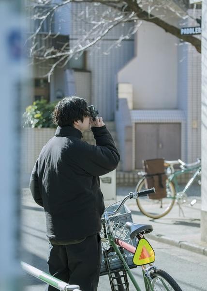 藤本さんが撮影している様子