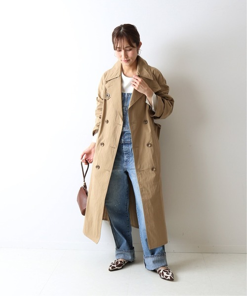 [Spick & Span] 【BARBOUR】WASHABLE TRENCH◆