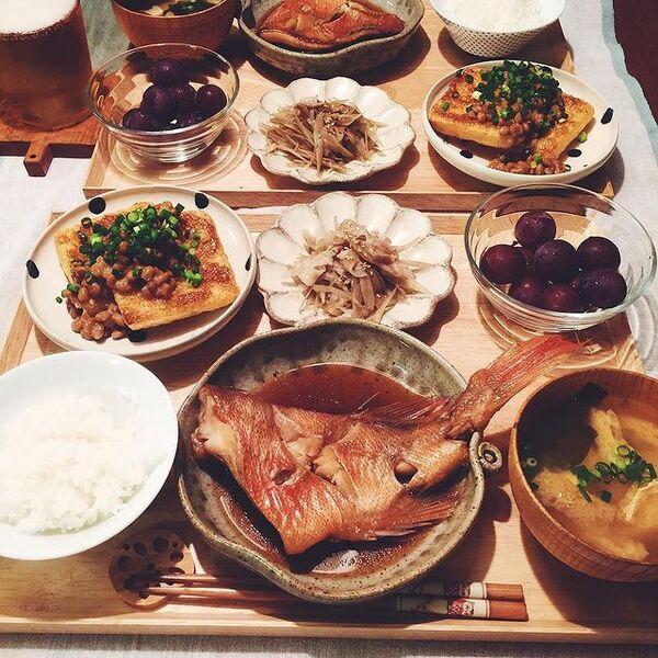 定番の和食の魚料理レシピ☆赤魚の煮付け