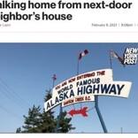 マイナス40度の深夜に隣の家から帰宅しようとした68歳女性が死亡(カナダ)