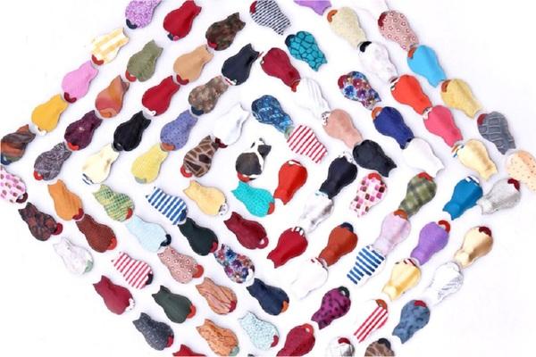 発売される101匹は色・柄・風合いがすべて違う「世界にひとつ」の逸品です。