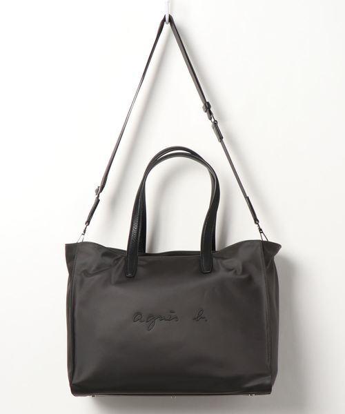 [agnes b.] OAS11-02 2wayトートバッグ