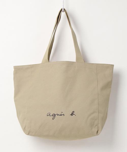 [agnes b.] 【WEB限定】GO03-01 ロゴトートバッグ