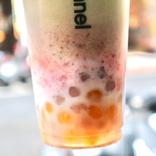 【台湾】タピオカより芋団子!抹茶といちごも入ったスイーツのようなドリンクが人気「茗時序」