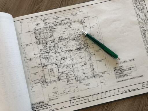 二世帯住宅の図面