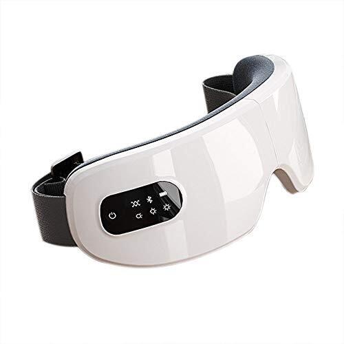 UMIAR エアーアイマスク アイウォーマー ホットアイマスク アイマッサージャー フェイススチーマー 目元マッサージャー 温め機能 音楽 気圧機能 折りたたみ USB 充電式 目元美顔器 目元エステ 日本語説明書