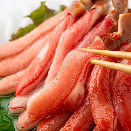 OWARI 生本ズワイガニ 刺身用 カニ脚剥き身(ポーション) 冷凍 1kg(30~60本入)