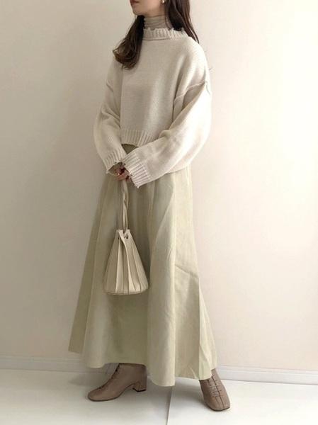 [RETRO GIRL] ベルト付マーメイドスカート