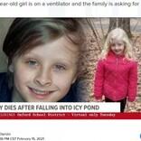 凍った池に落ちた妹を救った10歳男児、身体を張り水面に押し上げて自ら犠牲に(米)