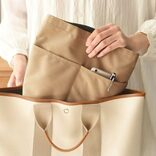 バッグもデスク上もすっきり整頓!自立式バッグインバッグ
