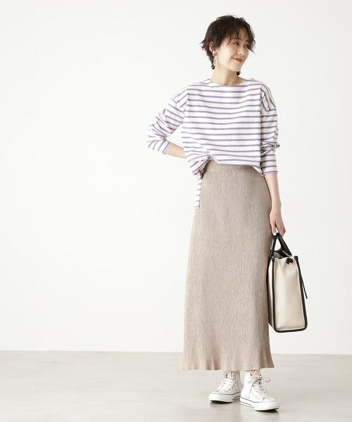 ◆プリーツナロースカート