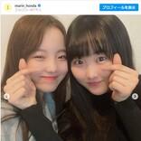 本田真凜&望結&紗来、三姉妹の仲良しショットに反響 「可愛すぎる」「最高の姉妹」