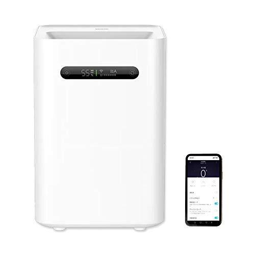 Smartmi スマート加湿器2 気化式 8畳 10畳 260ml 大容量4L 除菌 15時間連続 静音 アプリ操作 自動蒸発機能 水位センサー ディスプレイ モード選択 残水表示