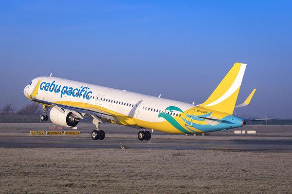 セブパシフィック航空(エアバスA321neo)