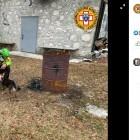 山で骨折したハイカーが7日後に救出 寄り添い続けた愛犬が「心の支えだった」(伊)
