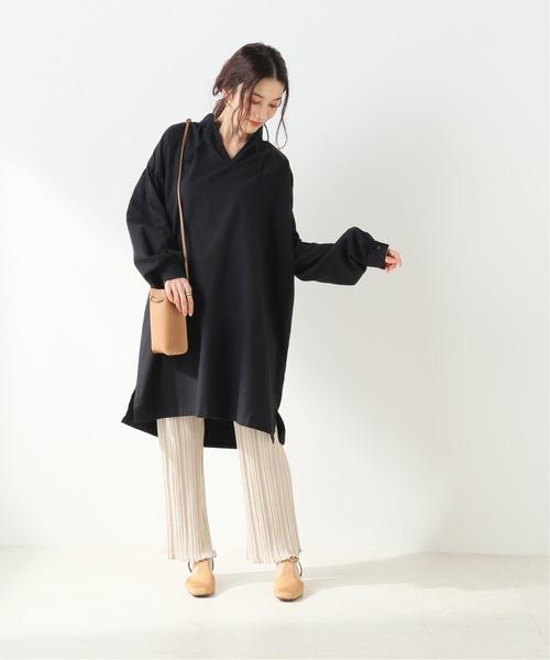 [IENA] 【 Duchess Designs/ダッチェス・デザイン】 シャツワンピース【 洗濯機使用可】◆