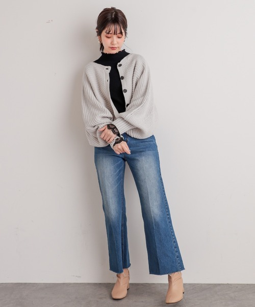 [natural couture] ショート丈2WAYポンチョ