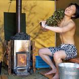 日本のフィンランドで本場スタイルのテントサウナを満喫/橋本祥平