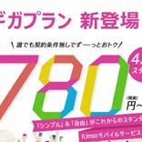 IIJ、音声SIM・2GBで月額780円からの「ギガプラン」を4月1日開始