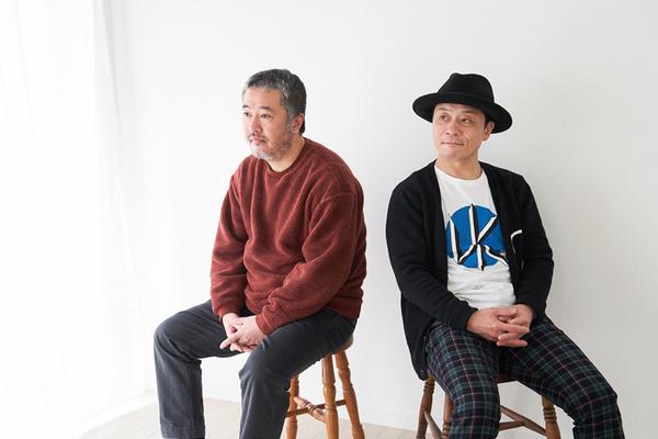 (左から)赤堀雅秋、三宅弘城