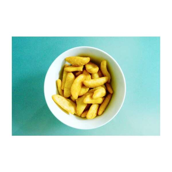 カルディ柿の種アゲアゲ