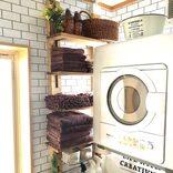 洗面所のスペースがない時の収納術。賃貸でもできる狭い空間をおしゃれにする方法