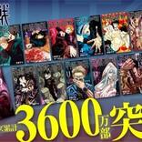 『呪術廻戦』累計3600万部突破 3月4日に15巻&公式ファンブック発売