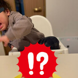 【どうした!?】誕生日ケーキに子どもがギャン泣き! あまりのリアクションに「そんなにw」「可哀想と可愛いが一緒にきました」とツイッターではほっこりの声