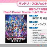 「BanG Dream! Special☆LIVE Girls Band Party! 2020」振替公演が6月に開催決定