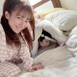 """辻希美、三男のメイク道具イタズラSHOT&""""最高にいい感じ""""に焼けた手作りパンを公開"""
