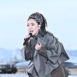 MISIA、TBS『音楽の日』でブルーインパルスと共演&川谷絵音とのコラボ曲「想いはらはらと」披露