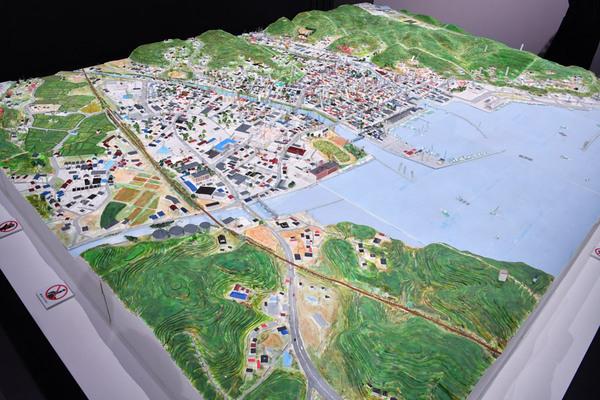 南三陸町の模型