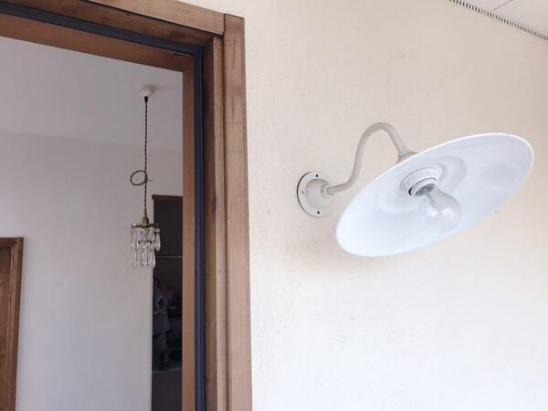 アンティーク調の玄関照明