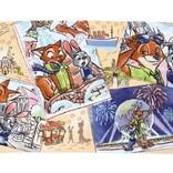 ジュディとニックがディズニーランド&シーを楽しむ『ズートピア』新アートグッズがTDRに登場!ラブラブな思い出ショットにキュン!