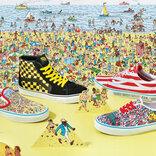 """『ウォーリーをさがせ!』のスニーカー登場!史上最難関の""""探す靴""""爆誕です。なにこのおしゃれなアイテムたちは…!"""