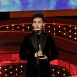 <第44回日本アカデミー賞>草なぎ剛、最優秀主演男優賞に驚き「頭が真っ白」