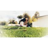 ダルビッシュ聖子、庭でヨガする姿にファン反響!
