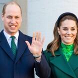 英キャサリン妃の白コート姿が美しい ウィリアム王子と結婚式を挙げた寺院を再訪