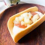 【ローソン新商品ルポ】シャキシャキりんごの食感がおいしい「ウチカフェ シナモン香る りんごとキャラメルケーキアイス」