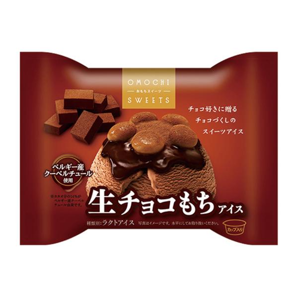 井村屋 おもちスイーツ 生チョコもちアイス