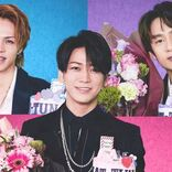 KAT-TUN「補うというより紡いでいく」3人体制の歩みや本音を語る、アニバーサリー番組の事前番組収録に密着