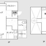 デザイナー夫妻が住む三角屋根の1LDK。ロンドン暮らしで培った部屋づくりのアイデアとは?(神奈川川崎)|みんなの部屋