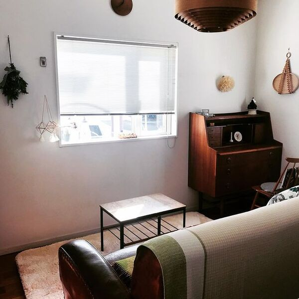 カフェのボックス席のように見える小空間
