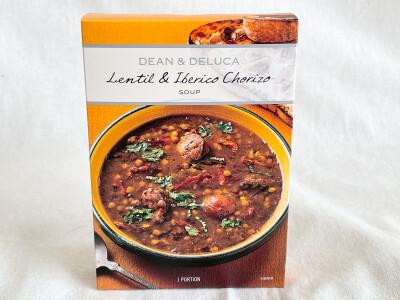 DEAN&DELUCA イベリコソーセージ&レンズ豆のスープ 734円(税込)