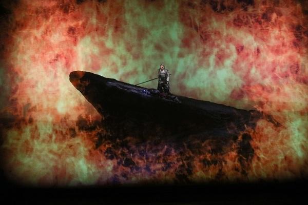 ヴォータン 青山貴:びわ湖ホールプロデュースオペラ『ワルキューレ』(2018年3月びわ湖ホール)   写真提供:びわ湖ホール