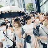 """戦慄かなの・頓知気さきな """"femme fatale""""、「鼓動 / ピューピル」リリースに合わせ渋谷ジャックイベントを実施!"""