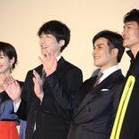 坂口健太郎、ハードなアクションを披露 伊原剛志も「ギャップ萌えした」と絶賛