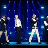 SHINee、約3年ぶり単独コンサートで世界120か国・約13万人の視聴者を魅了